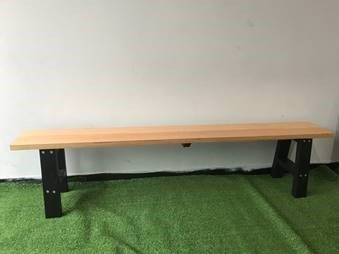 hardwood bench seats